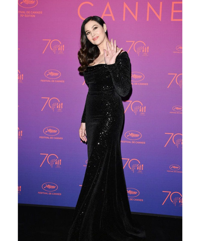 Opening Gala Dinner – May 17 2017 Monica Bellucci wore a Vivienne Westwood Couture gown